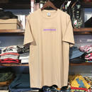 "【残り僅か】GUALA ""GEL BOX""  tee (Beige)"