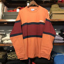 "【残り僅か】RUGGED  ""rugged®︎"" L/S tee (Orange)"
