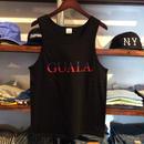 【残り僅か】GUALA logo tank top (Black)