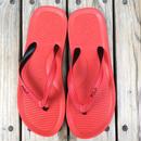 """【ラス1】POLO RALPH LAUREN """"Big pony""""Beach sandal (Red)"""
