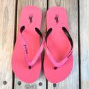 """【残り僅か】POLO RALPH LAUREN POLO RALPH LAUREN """"Big pony """"Womens Beach sandal (Pink/Black)"""