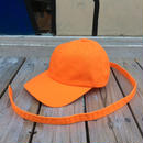 "【残り僅か】Superior ""Long adjuster"" cotton cap (Orange)"
