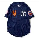 "Majestic ""AREA TEAM"" Baseball Shirts (Navy)"