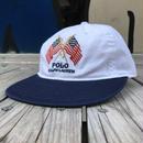 """【ラス1】POLO RALPH LAUREN """"Flags"""" adjuster cap (White)"""