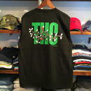 "【残り僅か】RUGGED GREEN LABEL  ""THC""  high-grade cotton tee (Black)"