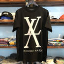"【ラス1】DOUBLE HARD ""XL"" tee (Black)"