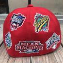 【ラス1】VOTE MAKE NEW CLOTHES team logo wappen cap (Red)