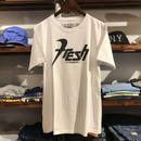 "【ラス1】visualreports ""FRESH"" tee (White/Black)"