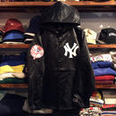 "Majestic ""NY"" hooded coach jacket (Black)"