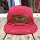 【ラス1】RRL Fitted Twill Cap (Red)