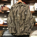 "RUGGED on vintage ""Stencil Arch"" tiger camo reversible jacket (M)"