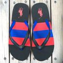 """【ラス1】POLO RALPH LAUREN """"Big pony""""border Beach sandal  (Black/Red/Blue)"""