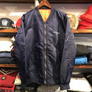 "RUGGED ""FUCK des BABYLON TOKYO"" MA-1 type light jacket (Navy)"