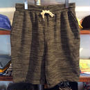 【残り僅か】RUGGED ''boutique logo'' sweat shorts (H.Black)