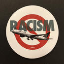 "RUGGED  ""RACISM"" sticker"