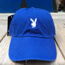 "【残り僅か】PLAY BOY ""RABBIT"" adjuter cap(Blue)"