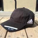 【残り僅か】adidas  COTTON COMFORT RELAXED FIT UV PROTECTION adjuster cap (Black)
