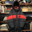 【残り僅か】FILA Down hooded jacket (Navy)