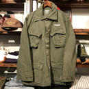 """RUGGED on vintage """"Stencil Arch"""" military jacket (M)"""