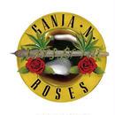 "RUGGED  ""GANJA & ROSES"" sticker"