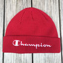 【ラス1】Champion logo beanie (Red)