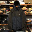 "RUGGED ""Real/Fake"" nylon shell parka (Navy)"
