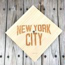 """【ラス1】 SECOND LAB """"NEW YORK CITY"""" clock ( natural )"""