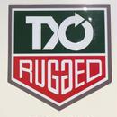 "RUGGED  ""TYO RUGGED"" sticker"