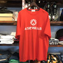 【ラス1】AIR WALK 3D logo tee(Red)