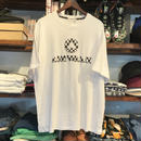 【ラス1】AIR WALK 3D logo tee(White)