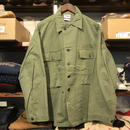 "RUGGED on Vintage ""POLO SMOKE"" military shirt (M)①"