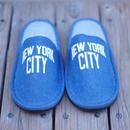 """【ラス1】SECONDLAB """"NEW YORK CITY"""" room shoes (stone wash)"""