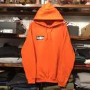 """【残り僅か】RUGGED """"Sucker"""" sweat hoodie (Orange)"""