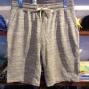 【残り僅か】RUGGED ''boutique logo'' sweat shorts (H.Gray)