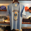 【残り僅か】RUGGED ''JAH SAPPHIRE'' tee(Light Blue)