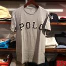 POLO RALPH LAUREN logo tee(Gray)
