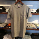 RUGGED on Champion pocket tee(Gray)