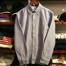 【残り僅か】RUGGED oxford shirt(Blue)
