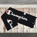 【残り僅か】Champion BIG LOGO SCARF (Black)