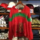 """【ラス1】DENIM&SUPPLY  """"Native"""" Knit Parka (Red)"""
