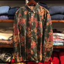 """【ラス1】DENIM&SUPPLY """"FLORAL"""" couduroy B.D. shirt(Green)"""