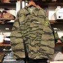 "RUGGED on vintage ""Stencil Arch"" tiger camo jacket (L)"