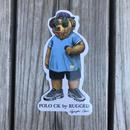 "RUGGED ""POLO CK"" sticker"
