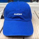 "【ラス1】PLAY BOY ""LOGO"" adjuter cap(Blue)"