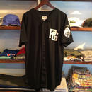 【残り僅か】RUGGED ''TOKYO JOINTS'' baseball shirt (Black)