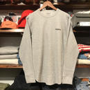 "【ラス1】RUGGED ""rugged®️"" heavy weight thermal  (Gray/10.3oz)"