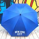 """【ラス1】Second Lab """"NYC"""" umbrella (Blue)"""