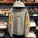 "【残り僅か】RUGGED ""BLUNT FIRE"" sweat hoodie (12.7oz./Gray)"