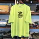 【残り僅か】FILA ball logo tee(Neon Green)