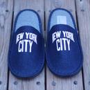 """【ラス1】SECOND LAB """"NEW YORK CITY"""" room shoes (one wash)"""